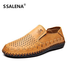 2018 Men's Dress Shoes Fashion Men Wedding Breathable Dress Shoes Male Comfortable Banquet Flats Shoes AA20579