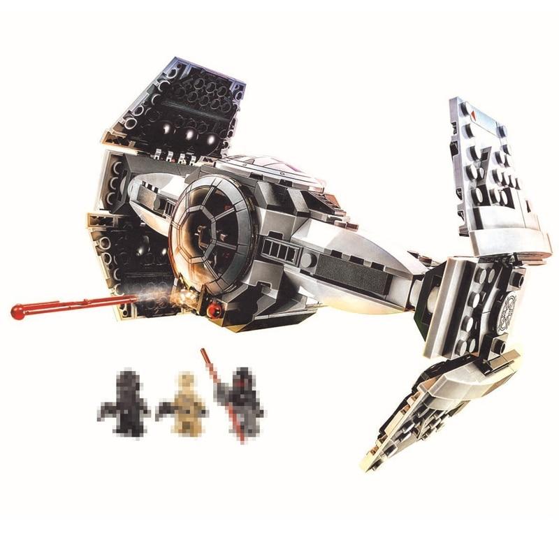 Star Wars 10373 Force Awakens TIE Advanced Prototype Building Blocks Toys For Children Gifts Block Compatible Legoed 75082