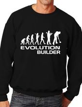 Evolution Of Builder Funny Sweatshirt Jumper Unisex Birthday Gift More Size and Color-E179