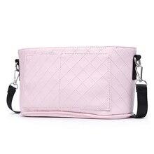 ファッション母ベビーカーバッグピンクストライプ女性おむつバッグポータブル再利用可能なウェットバッグ旅行ウェットドライバッグミニサイズ23*14センチメートル