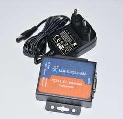 USR-TCP232-302 последовательный RS232 к Ethernet TCP/IP сервера модуль Ethernet преобразователя Поддержка DHCP/DNS, 200 обновлен