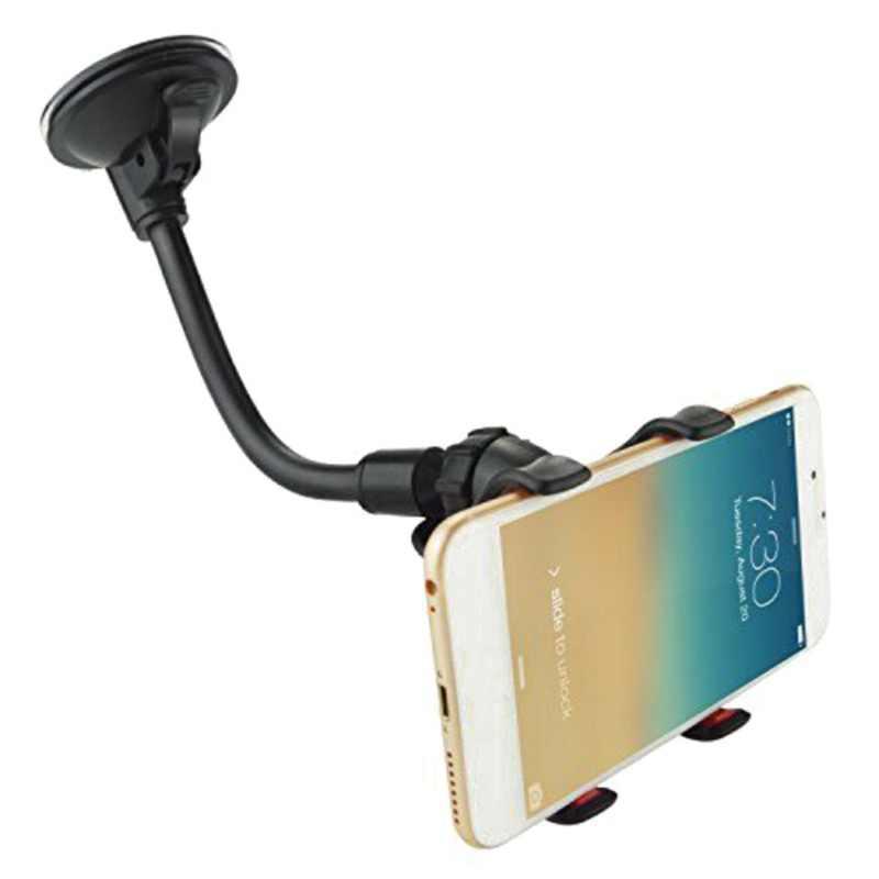 2019 nouveau pas cher téléphone support ventouse voiture support pour téléphone multi-fonction Navigation cellulaire support pour téléphone s voiture Mini noir blanc
