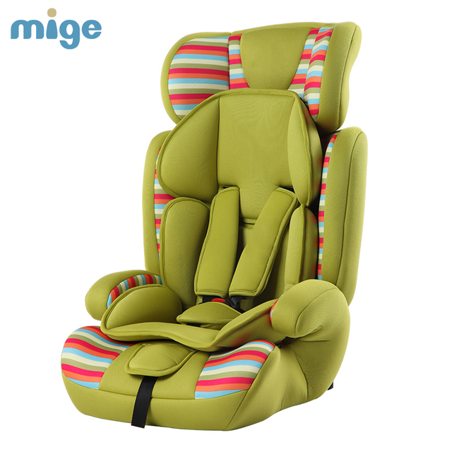 Europen ECE Child Car Safety Seats high quality isofix baby car seat for 9 months -12 years old children boys girls