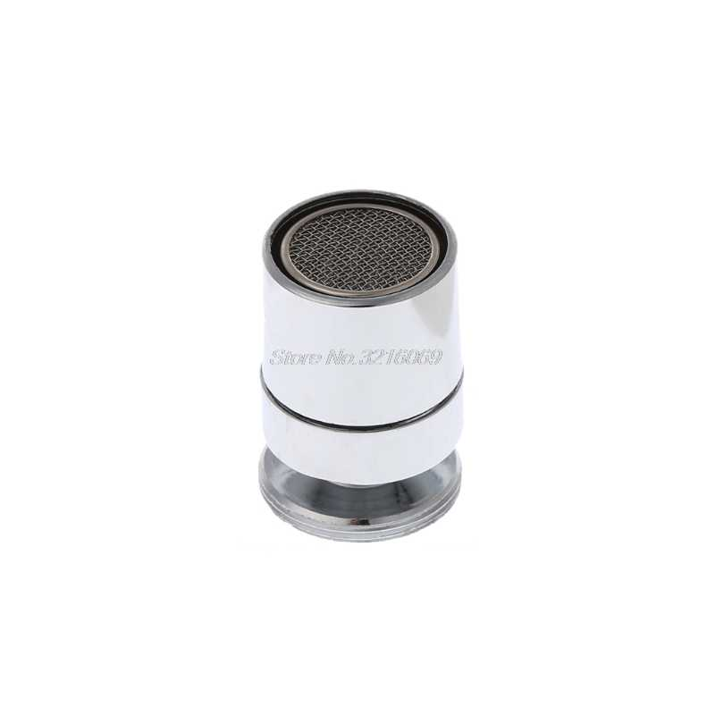 Chrome 24 Mm Brass Adjustable Putaran Hemat Air Nozzle Cerat Aerator M24 Pria