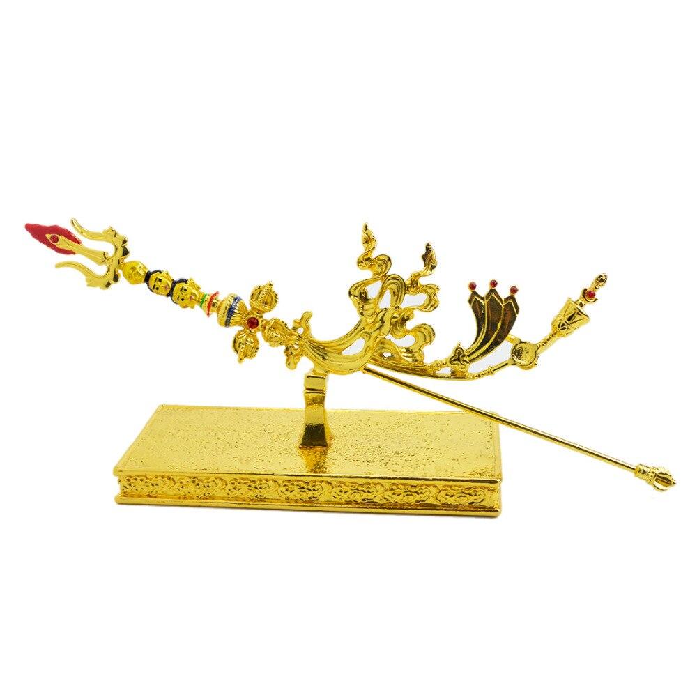 2017 Գուրու Rinpoche W2388- ի նոր Feng Shui ոսկե - Տնային դեկոր - Լուսանկար 4