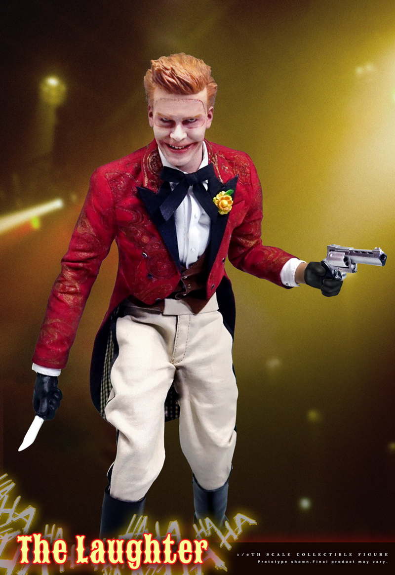 1/6 Scale The Laughter Gotham Joker Full Set Action Figures with Movable Eyes Collections Models Toys Gifts 1 6 scale full set soldier the lord of the rings elven prince legolas action figure toys model for collections