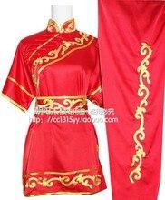 Customize suit taolu clothes embroidery Chinese wushu uniform Kungfu clothing Martial arts for women boy girl children kids