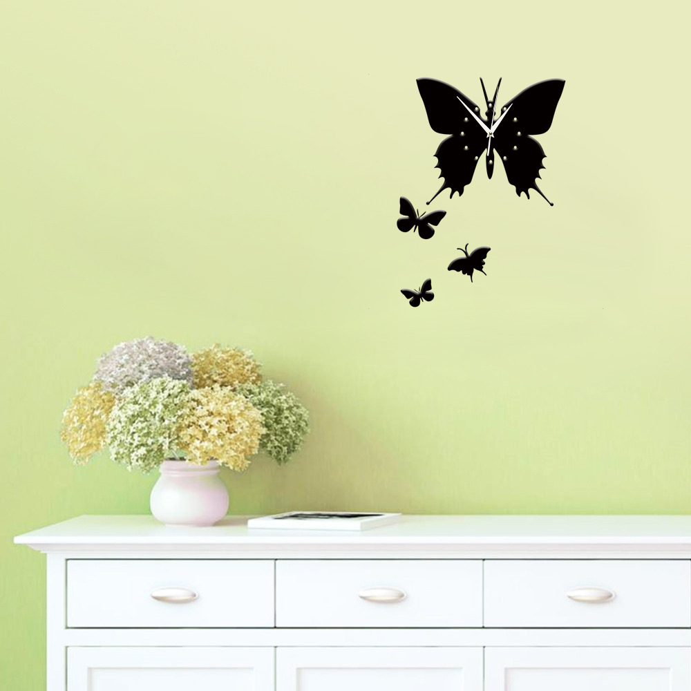 Colorful 3d Butterflies Wall Art Vignette - The Wall Art Decorations ...