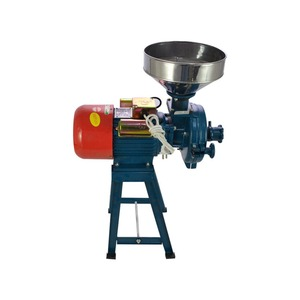 Image 4 - 220V 전기 피드 밀 습식 건조 곡물 분쇄기 쌀 곡물 커피 밀