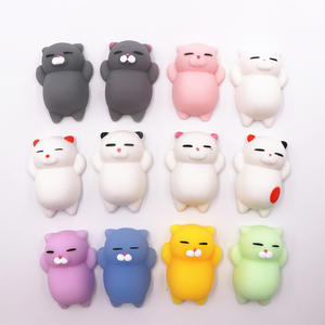Lovyno Color Squishy Cat Antistress Ball Squeeze Funny Gift