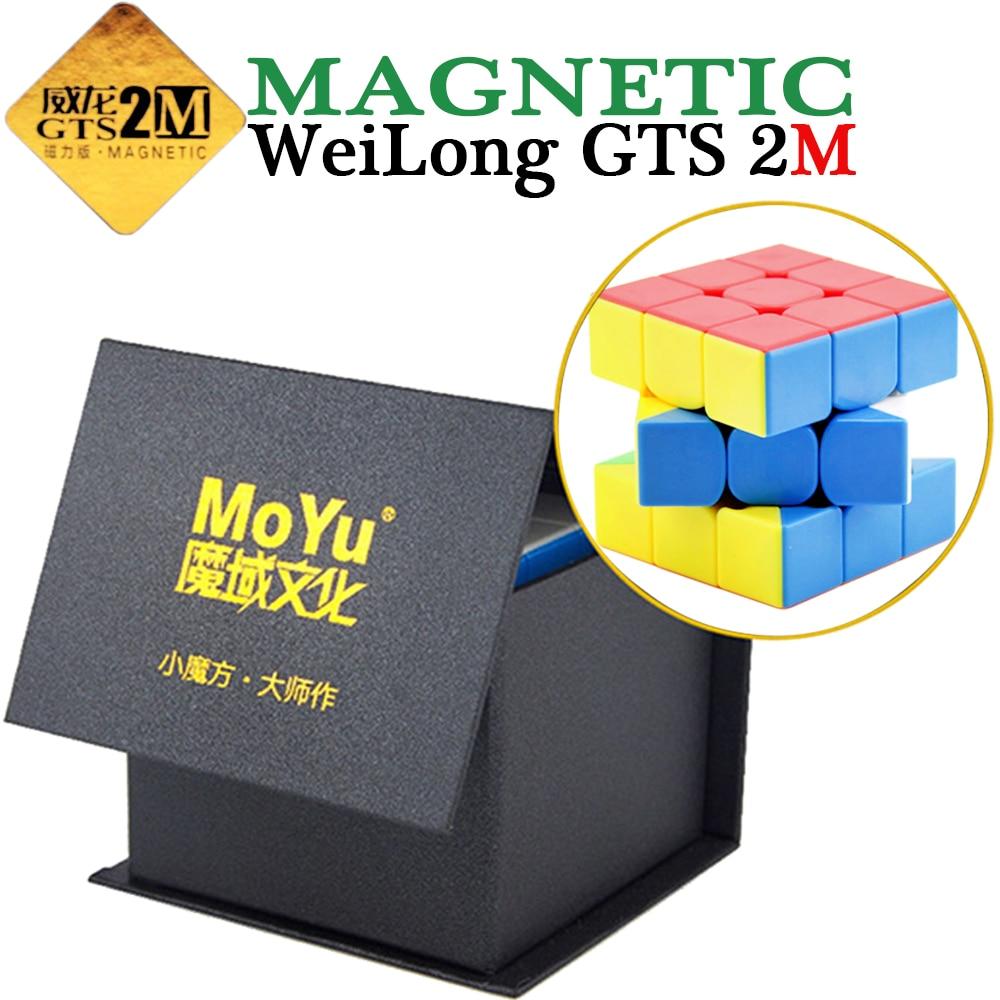 WeiLong GTS 2 M Magique Cube 3 Couches 3x3x3 Vitesse MoYu Cube de puzzle 3*3*3 Cubo Megico