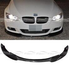 Olotdi стайлинга автомобилей углерода Волокно передняя губа протектор для BMW 3 серии E92 E93 mt короткое mshop AC Стиль 2008-2010