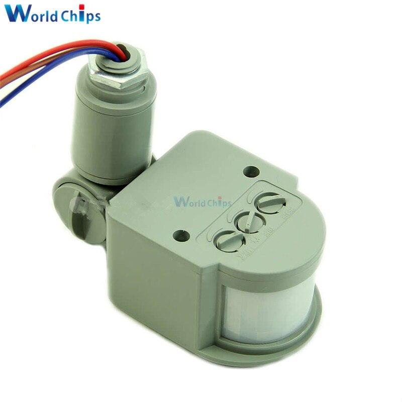 DC 12 V 12 M Automatische PIR Infrarot Motion Sensor Detektor Schalter für LED Licht Sicherheit für Wohnzimmer Schlafzimmer Innen neueste