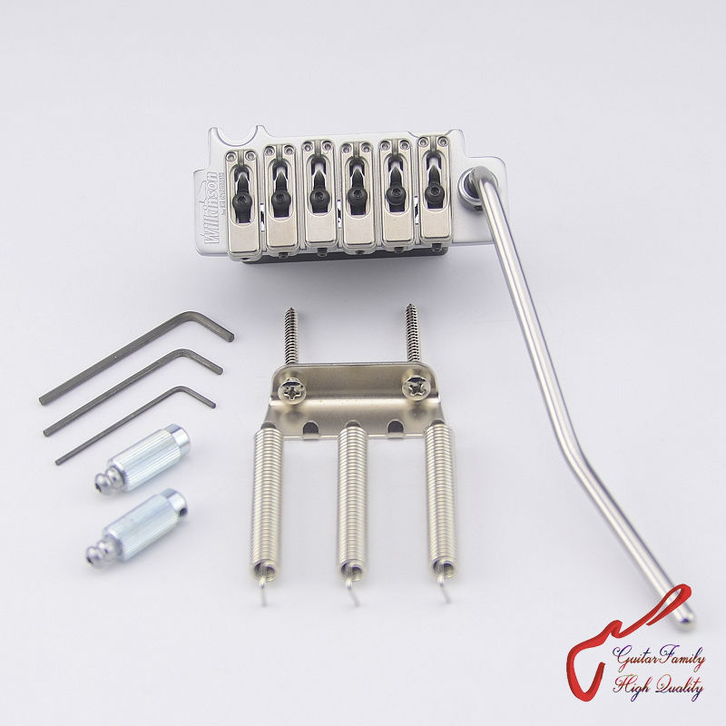 Genuine Original GOTOH Wilkinson VS100N VS-100N 2-Point Electric Guitar Tremolo System Bridge  ( Honed Chrome ) MADE IN JAPAN акустика для фонового озвучивания tannoy dvs 8 wh