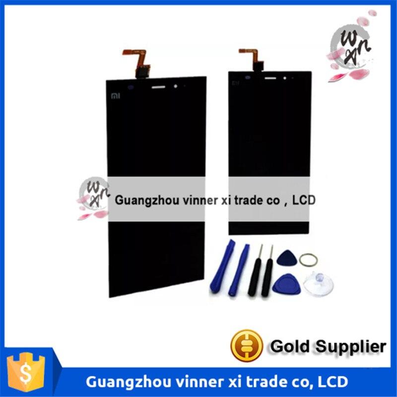 ФОТО Touch screen + LCD Display For Xiaomi Mi3 Mi 3 Mi3W MI 3W black