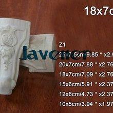 Z1-18x7 cm из резного дерева аппликация декор для плотника деревообрабатывающие плотник ногу с цветочным узором