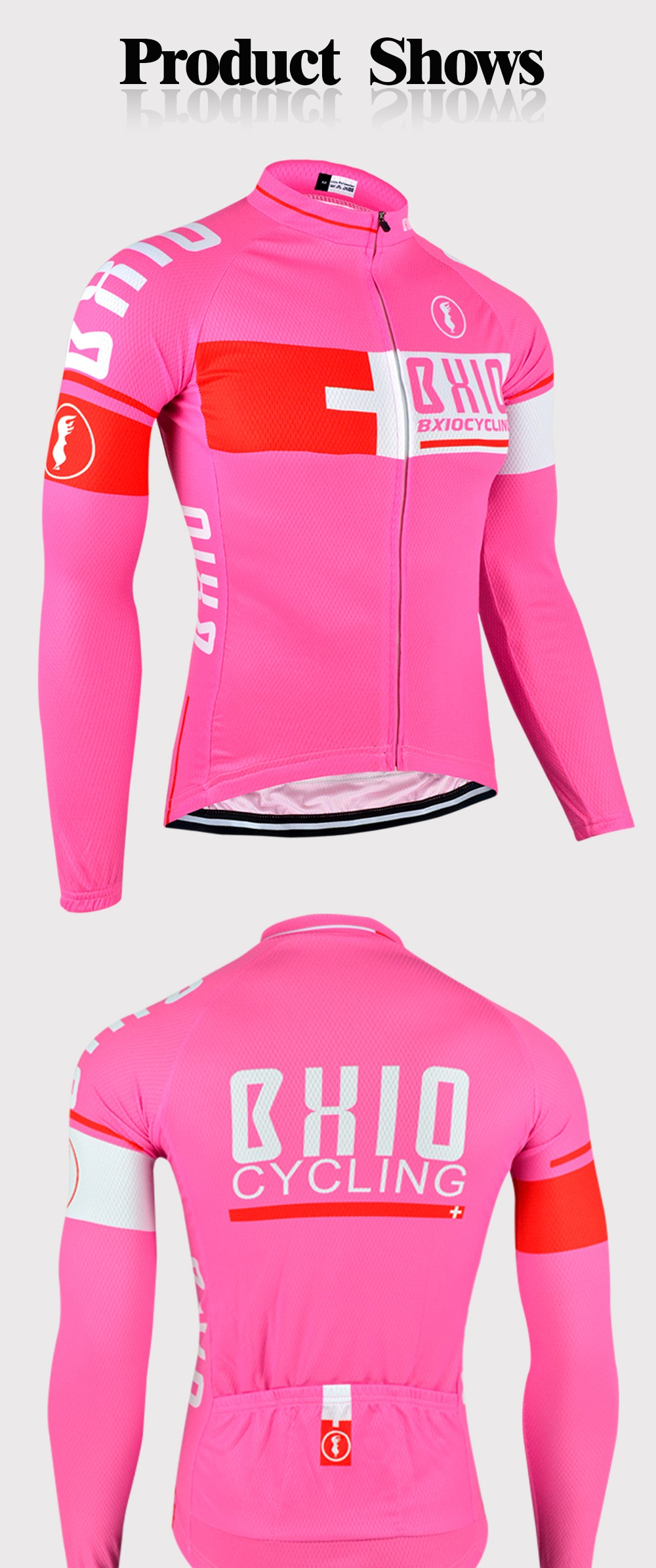 BXIO Winter Cycling Jersey Invierno Ropa Ciclismo Mujer MTB Bike Jerseys  Multi Color Brand Bicycle Clothes Long Sleeves 025-J 173d1d8bf