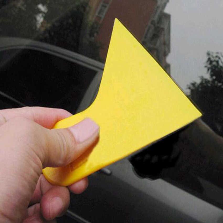 1 قطعة البلاستيك صغيرة فيلم مكشطة سيارة فيلم أدوات ممسحة لوحة زجاج سيارة ملصقا أدوات المنتجات الالكترونية شاشة فيلم أدوات