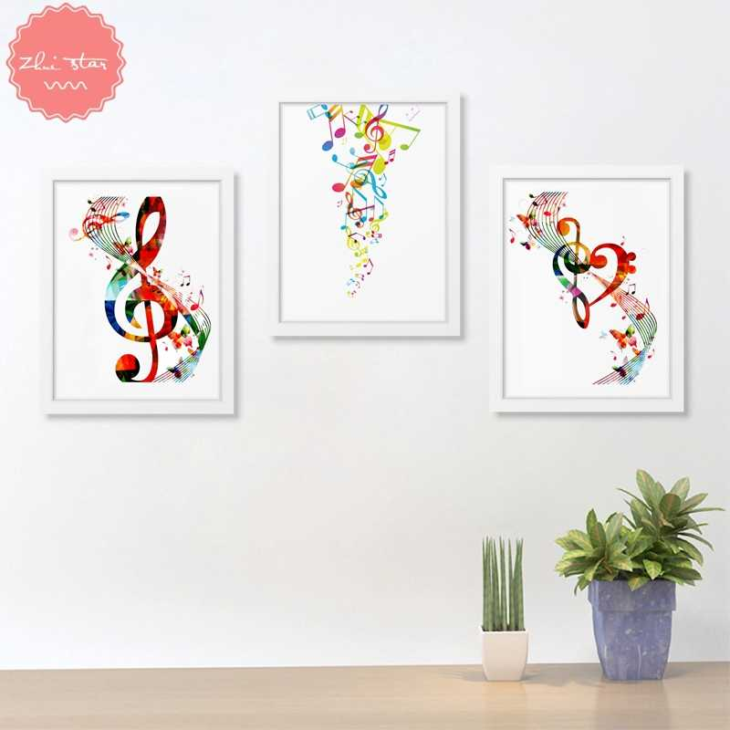 diamond painting Colorful Music Notes mosaic cross-stitch diamond embroidery sale christmas decorations for home