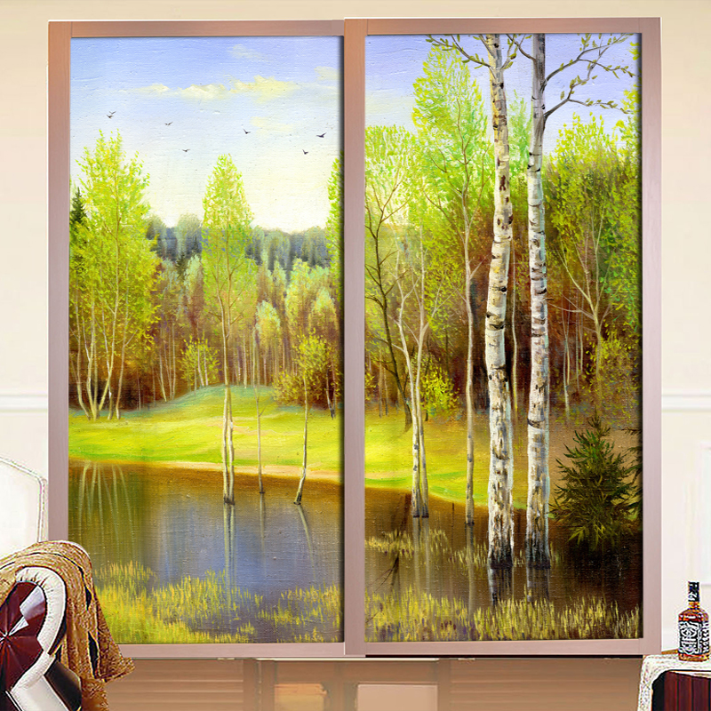 Translucent Bathroom Windows: Online Buy Wholesale Stained Glass Scenery From China