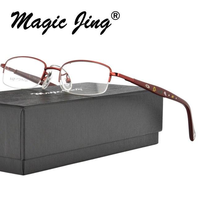 e700227d6395 Металлические детские очки для детей оправы, половинчатая оправа по рецепту  ...