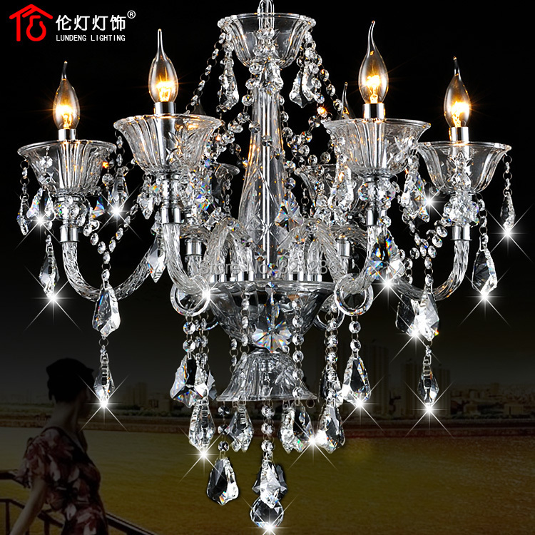 new  Modern Crystal Chandelier Home Lighting Decoration  Chandeliers Living Room Indoor Lamp luxury crystal chandelier restaurant white chandelier glass crystal lamp chandeliers 6 pcs modern hanging lighting foyer living room bedroom art lighting