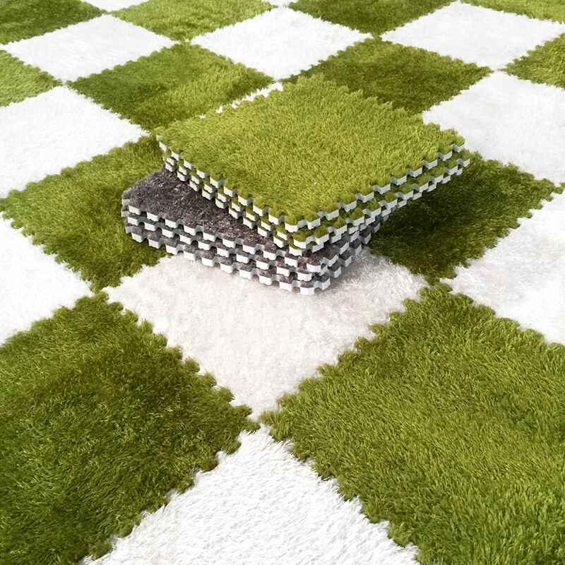 Room Decoration Soft Carpet Puzzle Mats
