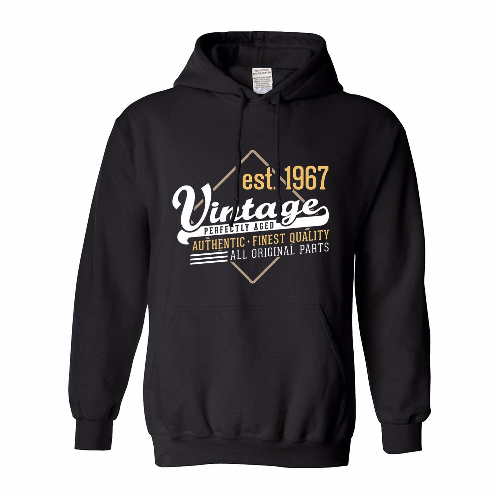 Classic 1967 Edition Funny 50th Birthday Hoodie Gift