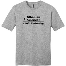 Funny Graphic Tees Short Sleeve O-Neck Best Friend Albanian American 100% Perfection Shirts For Men