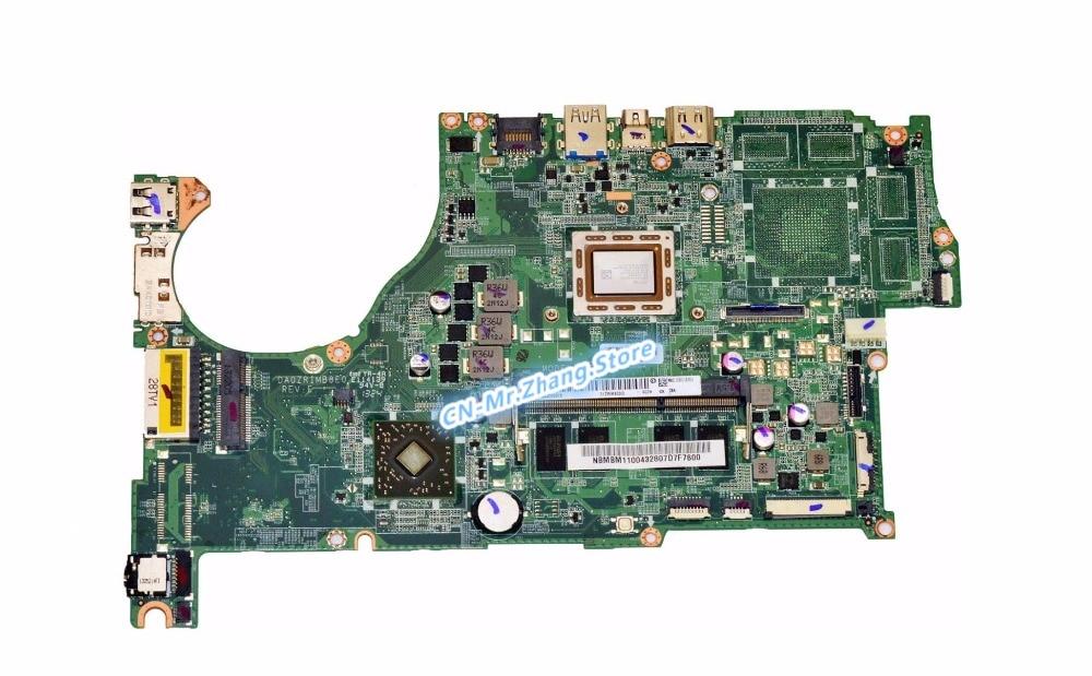 SHELI FOR font b Acer b font Aspire V5 522P Laptop Motherboard W FOR A10 5757