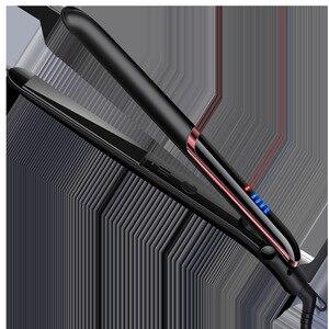 Image 5 - 2in1 110v 220v קרמיקה אוטומטי שיער מחליק מהיר חימום התארך רב תכליתי שיער מחליק עבור יבש רטוב שיער