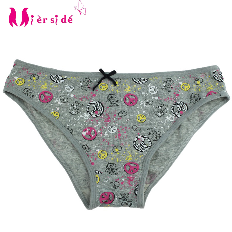 Mierside Cheap Panties Fashion New Womens Cotton Panties Girls Briefs Ms. cotton underwear sexy Ladies Briefs S/M/L/XL