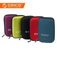 ORICO PHD-25 2.5 Inch HDD 보호 백 상자 대 한 External Hard Drive Storage 보호 case 대 한 HDD SSD Black/ blue/Green/PurPle(China)