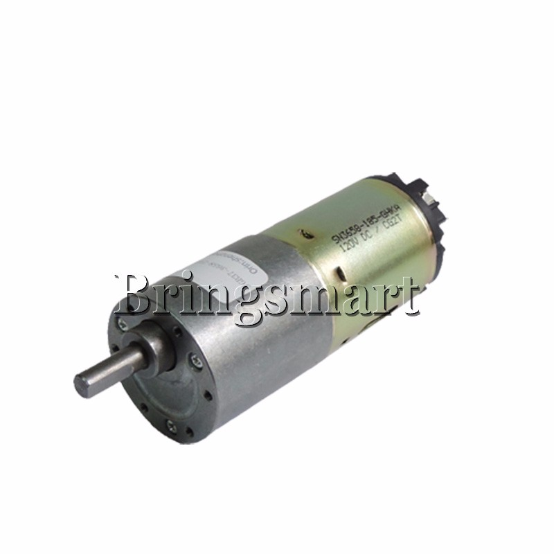 Bringsmart JGB37-3658 DC gear motor 12V-120V Mini Motor High Torque Low  noise 0 8-1000rpm
