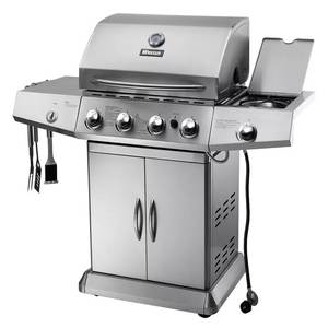 Bbq-Grill Side-Burner Outdoor And Gas Ce Configuration Perfect Appearance Sea by HIGH-END