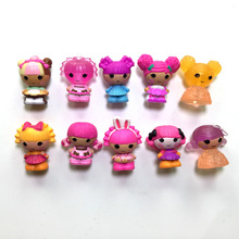 New arrival,10 pcs/set MGA mini Lalaloopsy action doll toys, Lalaloopsy Girls Fashion Action & Toy Figures Toys Gift Toys