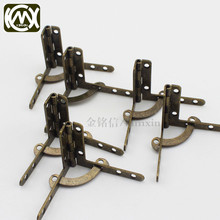 30pc 31*41mm Antique bronze Jewelry Gift Wine case Watch Box Wood lid L 90degree Antique hinges for jewelry boxes Kimxin W-034 30 20mm 10pc kimxin in stock zinc alloy hinge hinges for jewelry boxes jewelry and gif box hardware metal hinges w screws w 094