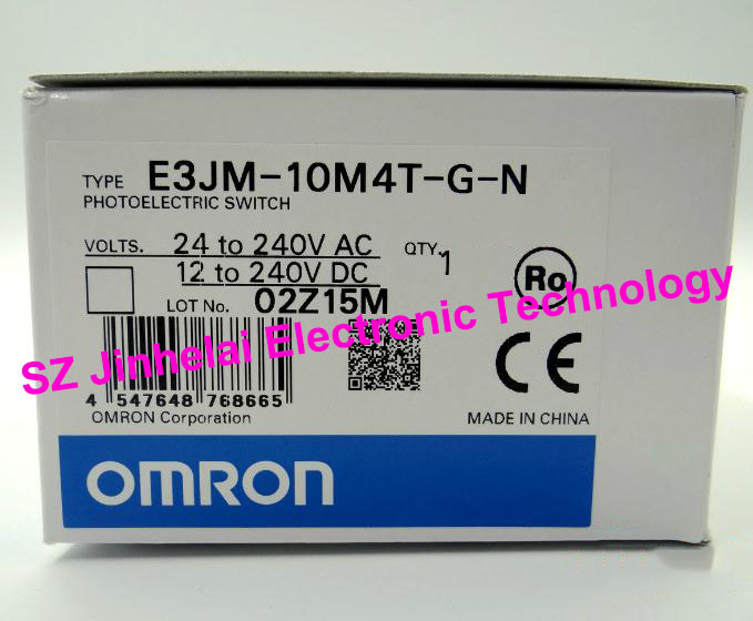 E3JM-10M4T-G-N,  E3JM-10M4-G-N New and original ORMON Photoelectric switch 100% new and original fotek photoelectric switch a3g 4mx mr 1 free power photo sensor