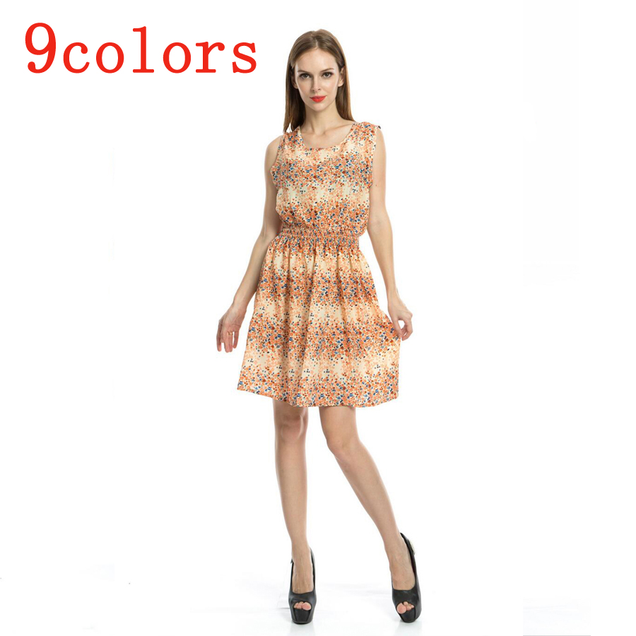 2016 New Casual summer dress girls plue size RF11491 10 ...