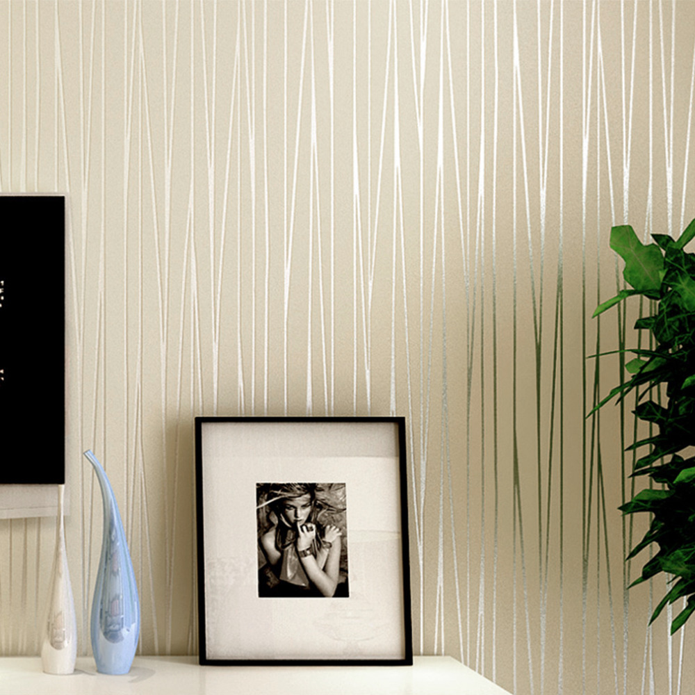 Simple Home Wallpaper Aliexpress  Buy Hot Simple Modern Home Embossed Textured .
