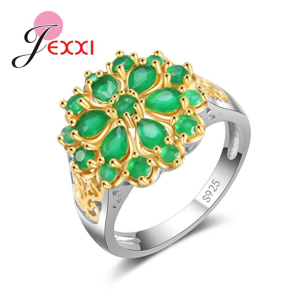 97e2cbb5d ᗗ Discount for cheap ring with big green natural stone and get free ...
