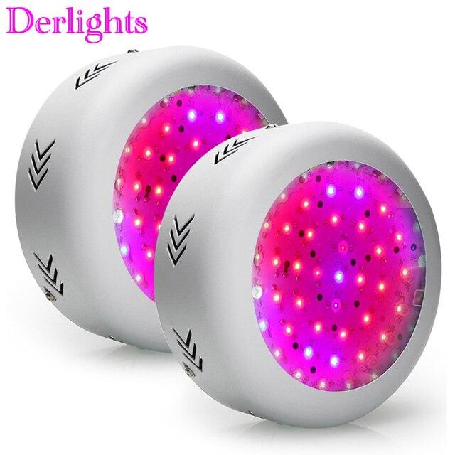 2pcs/Lot 150W LED Grow Light UFO 50X3W LEDs Full Spectrum Grow Box for Indoor Greenhouse Hydroponics Plants Flower Vegetables