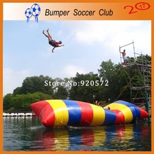Free Shipping ! Free Pump ! 10x3m Inflatable Pillow for Jump,Inflatable Water Blob, Water Jumping Blob, Water Trampoline