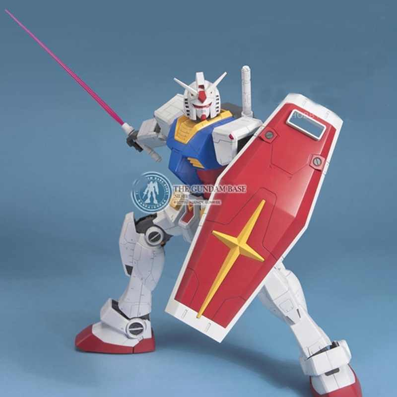 Anime Mobile Suit Gundam DABAN PG 1/48 RX-78-2 Action Figure brinquedos dos miúdos quentes 37 cm Robô montagem Arma e Escudo modelo brinquedos