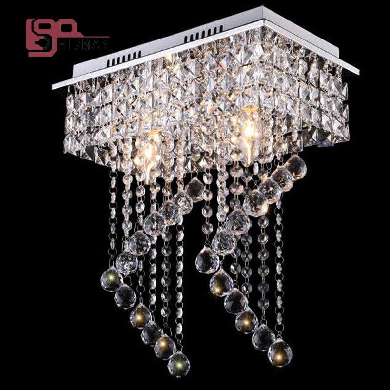 2017 new design crystal ceiling chandelier LED Light lustre modern hallway lighting kitchen lights автоинструменты new design autocom cdp 2014 2 3in1 led ds150