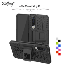 Xiaomi Mi 9 SE Case Shockproof Armor Rubber Silicone Hard PC Phone Case For Xiaomi Mi 9 SE Protective Cover Xiaomi Mi 9 SE Shell сыворотка для лица teana teana te022lwhpqq9