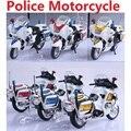 Nuevo Anuncio de Aleación auto de carga de coches de policía/1:43 Policía juguetes modelo de motocicleta/DIY modelos de coches juguetes de los niños para educativos