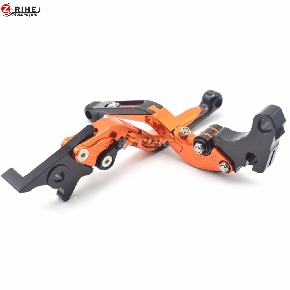 NEW CNC 3D Folding Adjustable Motorcycle Brake Clutch Levers For Honda GROM MSX125 2013 - 2015 billet alu folding adjustable brake clutch levers for motoguzzi griso 850 breva 1100 norge 1200 06 2013 07 08 1200 sport stelvio
