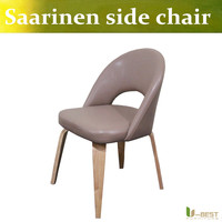 Free shipping U-BEST upholstered side chair dining room chair hotel luxury dining chair