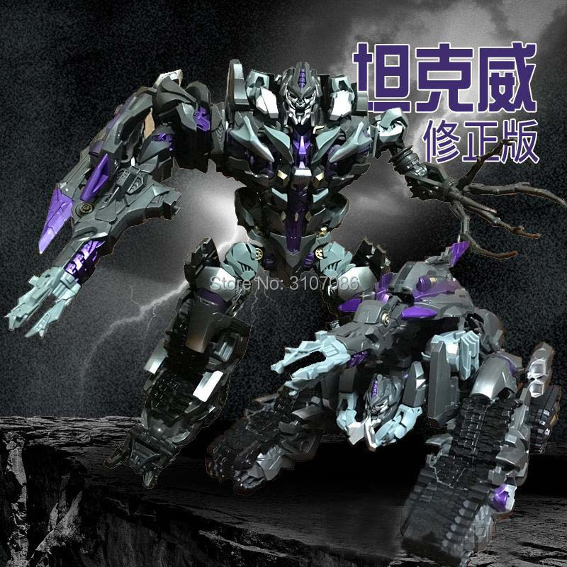 Transformation Purple Galvatron Movie Leader Dark Of The Moon Asia Limited With Movable Hands Sound Effect